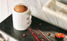 Receta de soufflé de chocolate «Berasategui»