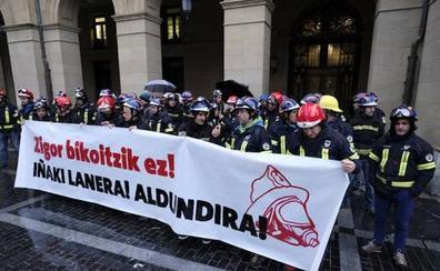 LAB insiste en que la Diputación deberá readmitir como bombero al exetarra Igerategi