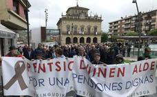 Los pensionistas vascos seguirán en la calle hasta que «el nuevo gobierno cumpla»