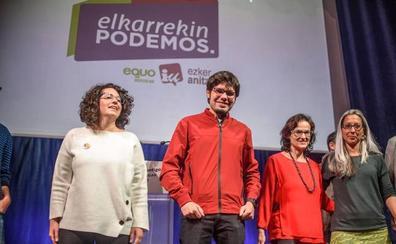 Elkarrekin Podemos intentará formar gobiernos progresistas con EH Bildu