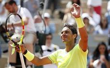 Nadal empieza en 'modo Roland Garros'