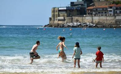 Las playas de San Sebastián estrenan temporada el sábado