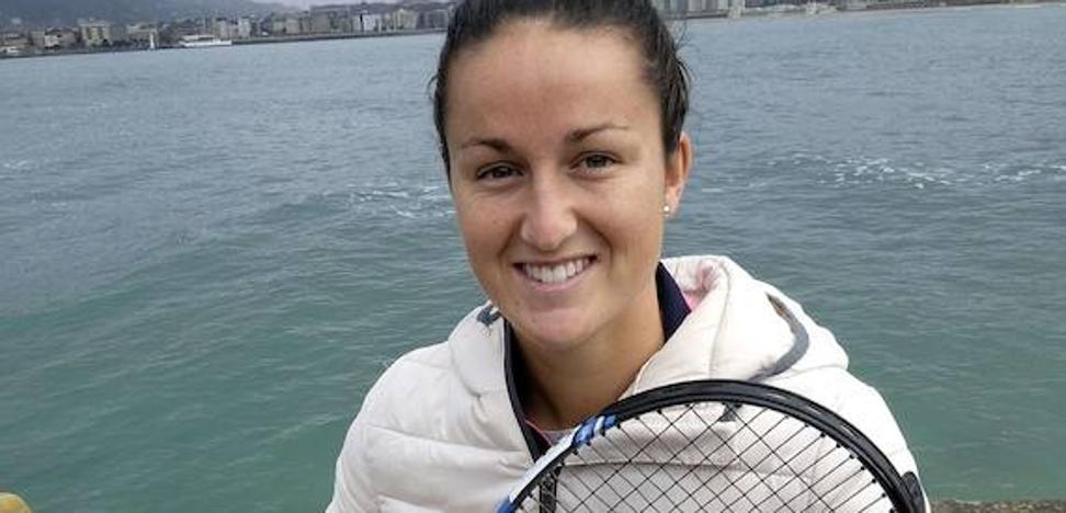 Lara Arruabarrena: «Tengo el nivel para recuperar los puntos que voy a perder por la lesión»