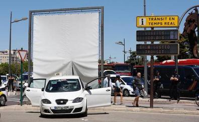 Heridas tres jóvenes al ser atropelladas en Valencia por un taxista que circulaba bajo el efecto de las drogas
