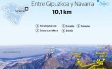 Bianditz/Arrizkoetxolagaña (844 m.), Errenga (794 m.) y Munagirre (774 m.)