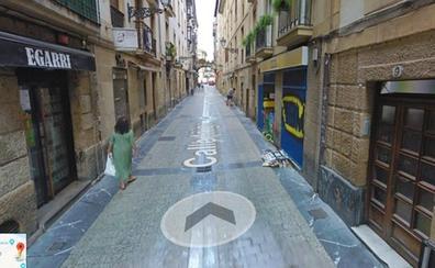 El GPS vuelve locos a los turistas que se alojan en la Parte Vieja de San Sebastián