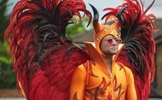 El legendario Elton John se enfrenta al asesino Keanu Reeves en la cartelera