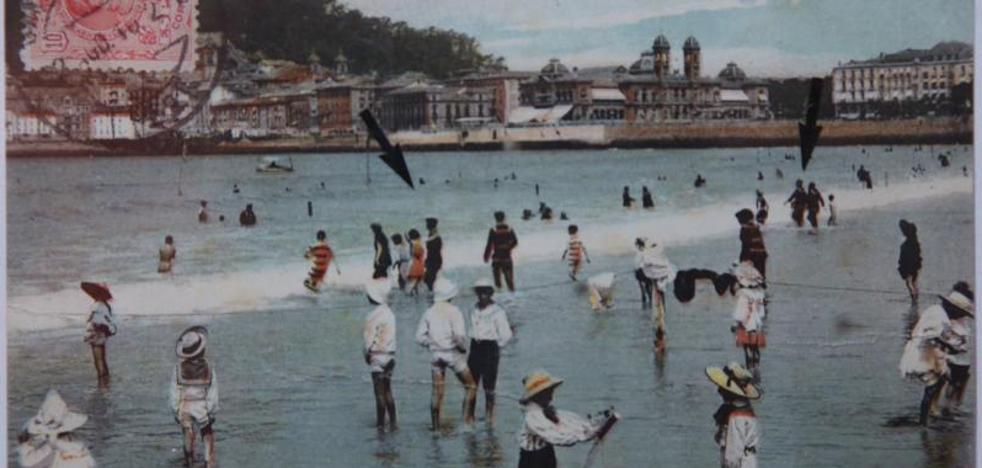 Retratos del San Sebastián del siglo pasado