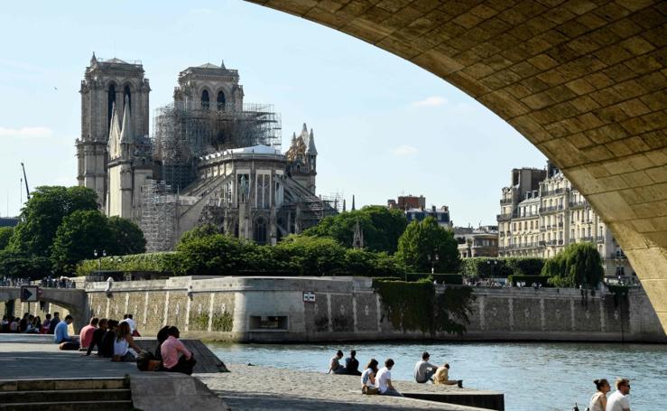 La nueva cara de Notre Dame
