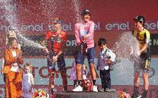 Roglic remonta a Landa y completa el podio con Carapaz y Nibali