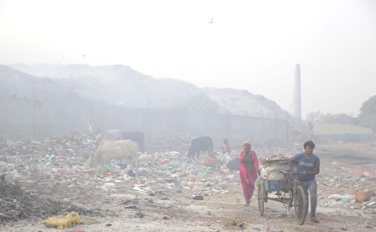 India, un vertedero más