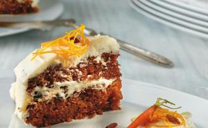 Receta de tarta de zanahoria con su mermelada