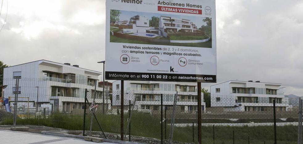 Una vivienda usada cuesta en Donostia 119.000 euros más de media que en Bilbao