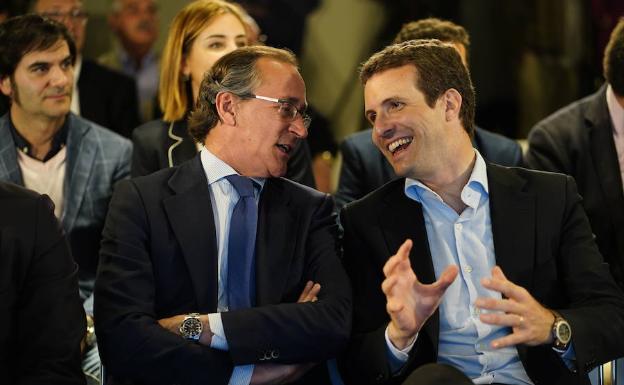 Alonso pide a Casado «respeto y confianza» en las organizaciones territoriales
