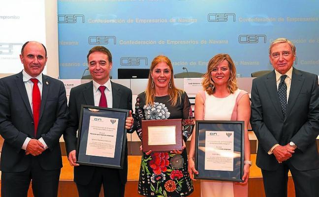 Premio del CEN a Nuria Mutuberria, trabajadora del Balneario de Elgorriaga