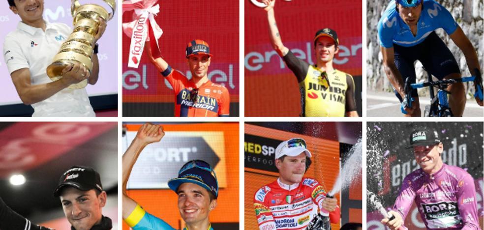 El ocho ideal del Giro de Italia 2019