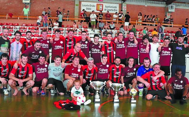 El equipo del Patricio Cocktail bar se adjudicó el Torneo local de fútbol sala