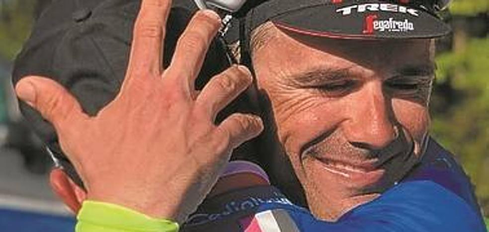 Markel Irizar: «Quería que mi última grande fuera el Giro, la mejor carrera»