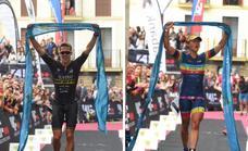 Oliveras y Corachan, ganadores de nivel en el Triatlón de Zarautz