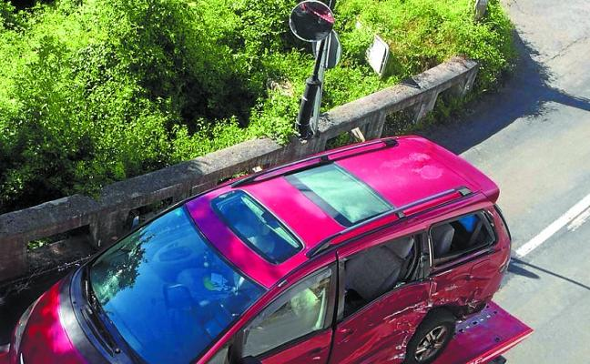 Libertad con cargos para el conductor detenido tras el mortal accidente de Leintz-Gatzaga
