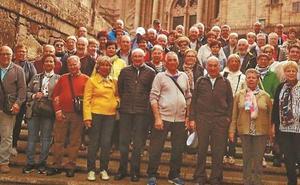 Viaje a Galicia de los socios del club Santa Cruz