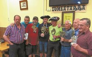 Zumeatarra elkartea se impuso en el Campeonato de Mus Intersociedades