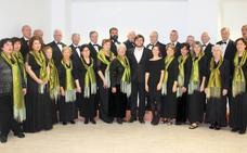 Concierto del Coro Itxaso en el Salón de Plenos del Ayuntamiento de Donostia