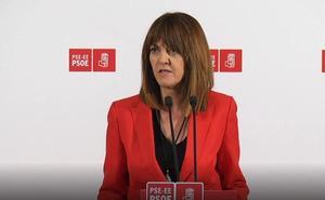Mendia pide al PNV que muestre «el máximo respeto» a los votos socialistas