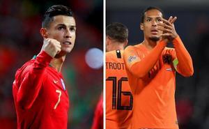 Cristiano-Van Dijk, duelo con la vista en el Balón de Oro en la final de la Liga de Naciones