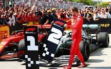 Vettel entrega la victoria del GP de Canadá por una polémica sanción