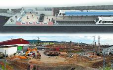 Un apeadero provisional cubrirá el servicio de Topo en Hendaia mientras se renueva la estación