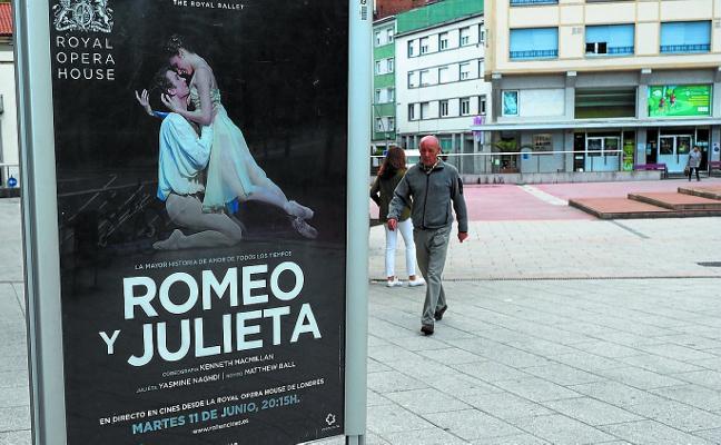El Zelai Arizti aretoa proyecta esta tarde el ballet 'Romeo y Julieta'