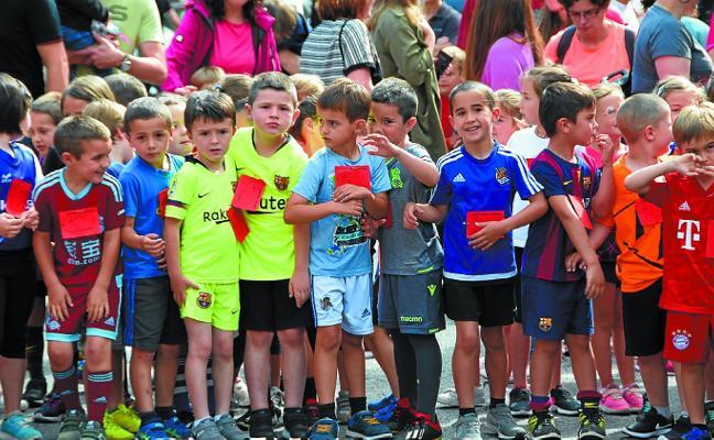 Lasterkari gazteen festa erraldoia Ikaskirol Krosean