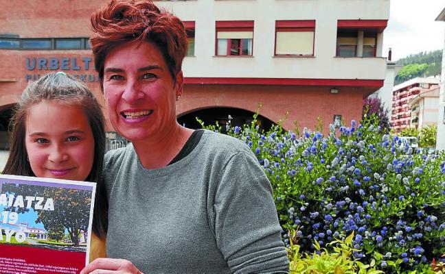 June Amundarain, ganadora de mayo en el calendario municipal