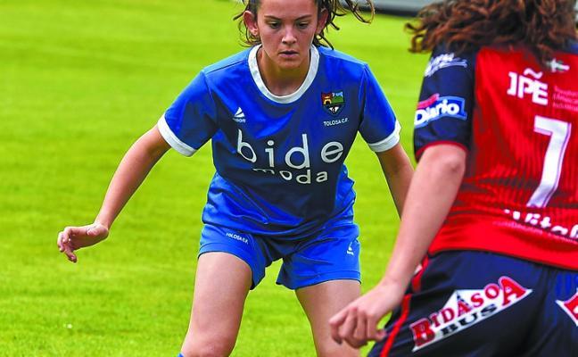 El Tolosa CF femenino se quedó a un paso de la final