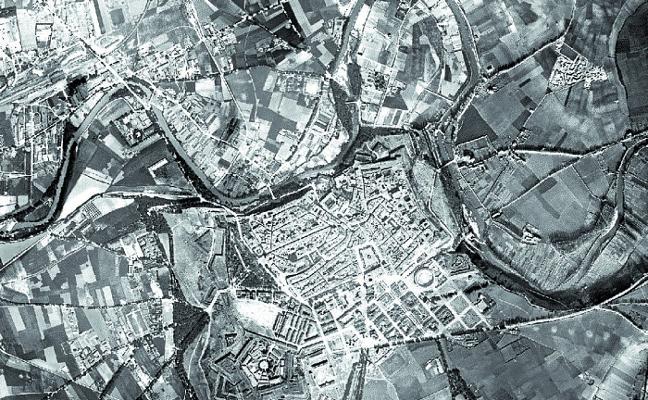Ya se pueden consultar las primeras imágenes aéreas de Navarra