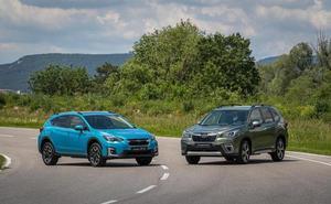 Subaru Forester y XV híbridos, llegan en otoño