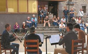 Lautan Quarteten klarinete kontzertu arrakastatsua