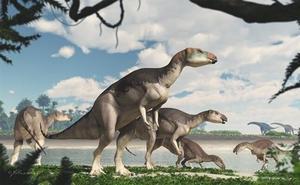 Identifican el esqueleto de dinosaurio opalizado más completo del mundo