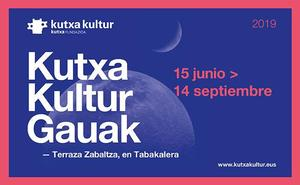 Kutxa Kultur Gauak, la nueva propuesta cultural de Kutxa al aire libre en la terraza de Tabakalera