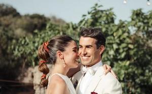 Candela Serrat y Daniel Muriel se dan el 'sí'