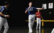 Iker Irribarria pierde su primer compromiso como nuevo campeón manomanista