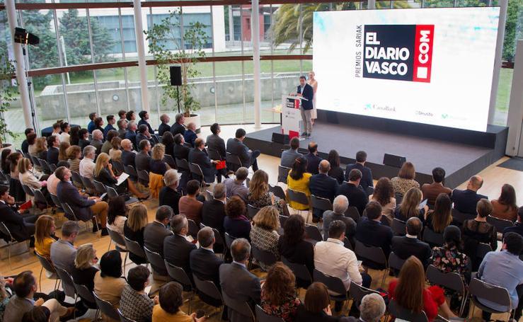 Los premios diariovasco.com, en imágenes