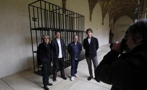 Aranberri presenta 'Itzal marra', una relectura sobre San Telmo