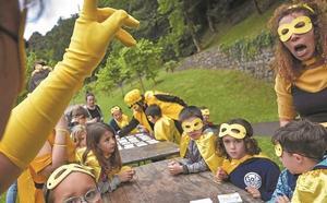 Superhéroes del medio ambiente en Tolosaldea