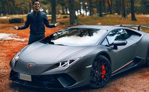Detenido el 'youtuber' David Díaz por ir a 228 km/hora en un Lamborghini