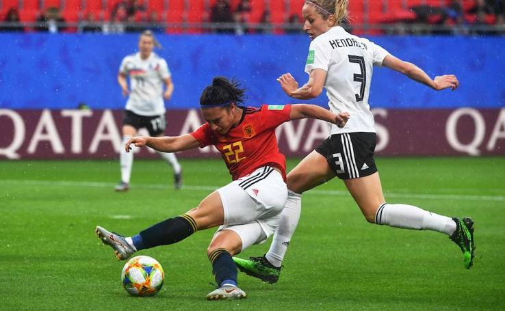 Las mejores imágenes del Alemania-España