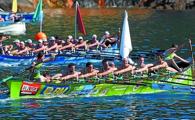 Hondarribia ocupó el segundo puesto en las dos regatas disputadas en Lekeitio