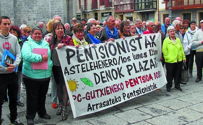 Los pensionistas despedirán el 'curso' con una manifestación