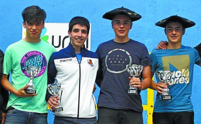 Koldo Ponce y Xabier Alkorta ganaron en el frontón de Altza